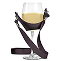 Wine Glass Yoke with Marimar Estate Logo